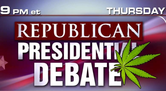 GOP Debate and MMJ