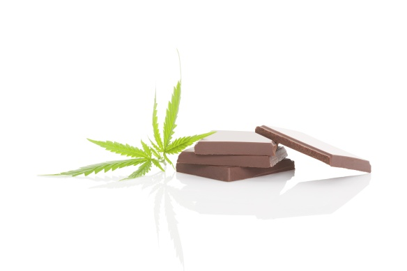 Cannabis chocolated.